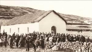 Congregación Lago Titicaca, Perú, 1920