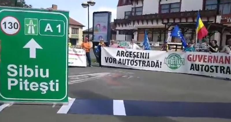 Să trecem Carpații, argeșeni! Azi e ziua cea mare! Se semnează contractul autostrăzii Pitești- Sibiu 1