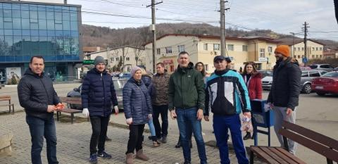 Acțiune civică de ecologizare la Ștefănești