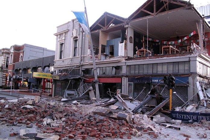 Terremoto Darfield