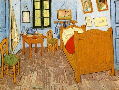 La habitación de Van Gogh en Arles, Museo de Orsay