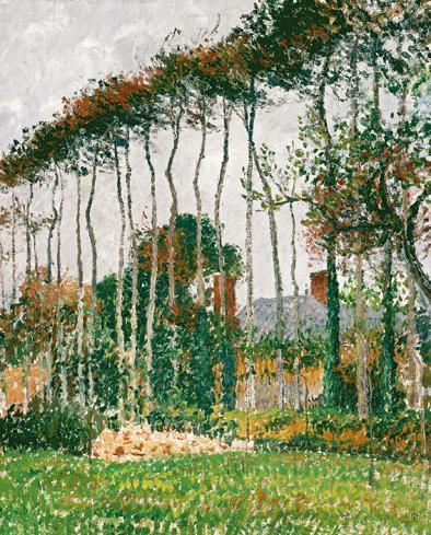 Paisaje de Varengeville, c. 1899 (Landscape at Varengeville) Óleo sobre lienzo. 64,8 x 54 cm Colección Pérez Simón, México