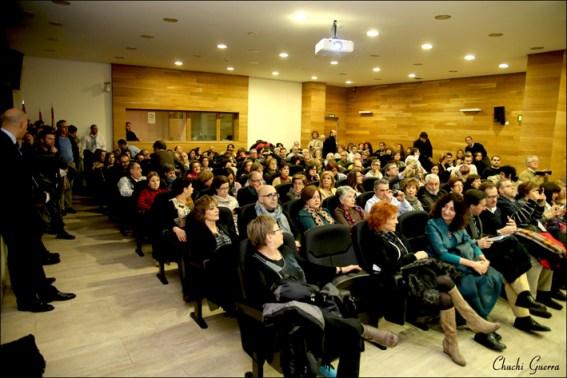 Aspecto de la sala durante la presentación de Revista Atticus Cuatro