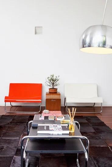 Una buena parte de los muebles de esta casa han sido comprados por Internet.
