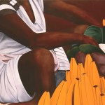Obra de la artista colombiana Ana Mercedes Hoyos, homenajeada en la segunda edición de ART/Cartagena, 2015.