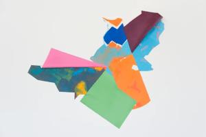 Obra por la artista Julie Digard en la bienal internacional de diseño de Saint-Etienne, 2015.