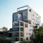 Edificio Camburiu por la firma brasileña AR- Arquitectos, participantes de la Bienal de Arquitectura Latinoamericana 2015.