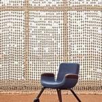 Mobiliario y espacio diseñado por Hella Jongerius y Rem Koolhaas, para Naciones Unidas. Finalista en el Design of the year 2015.