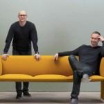 Los diseñadores Torbjorn Anderssen y Espen Voll.