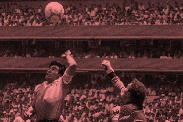 Mi foto con Maradona: Eduardo Longoni