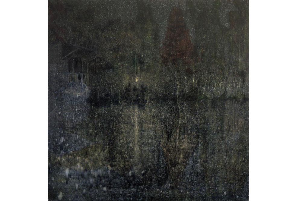 Nocturno, Acrílico sobre tela 80x80