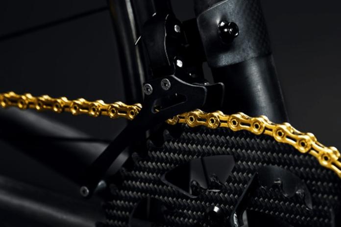 Desviador Tiso Altore em bicicleta Berk de 3,9 kg