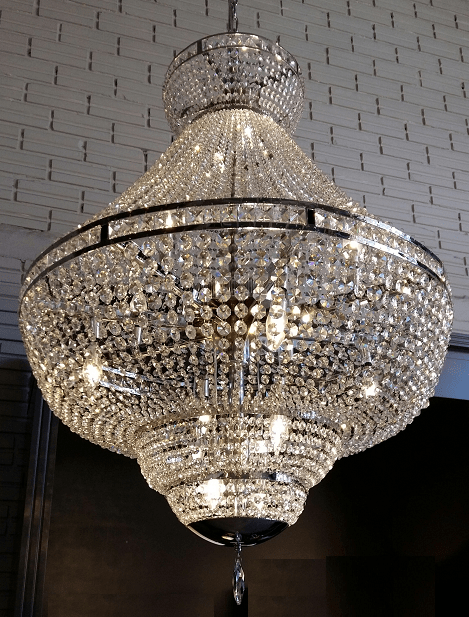 Imperio de cristal para sala de estar