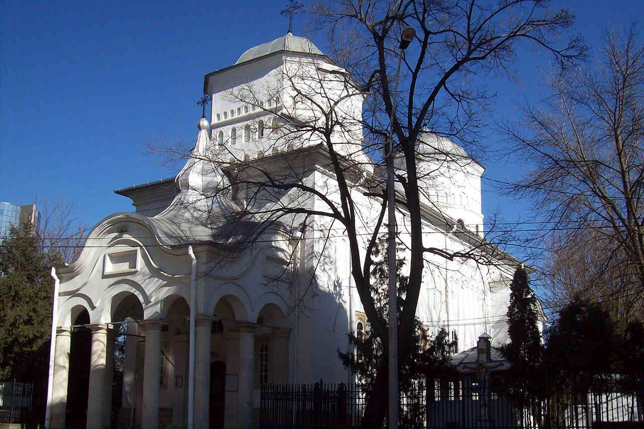 Barnovschi, biserica unui martir