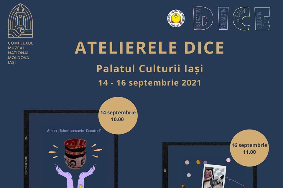 Ateliere DICE la Palatul Culturii din Iași