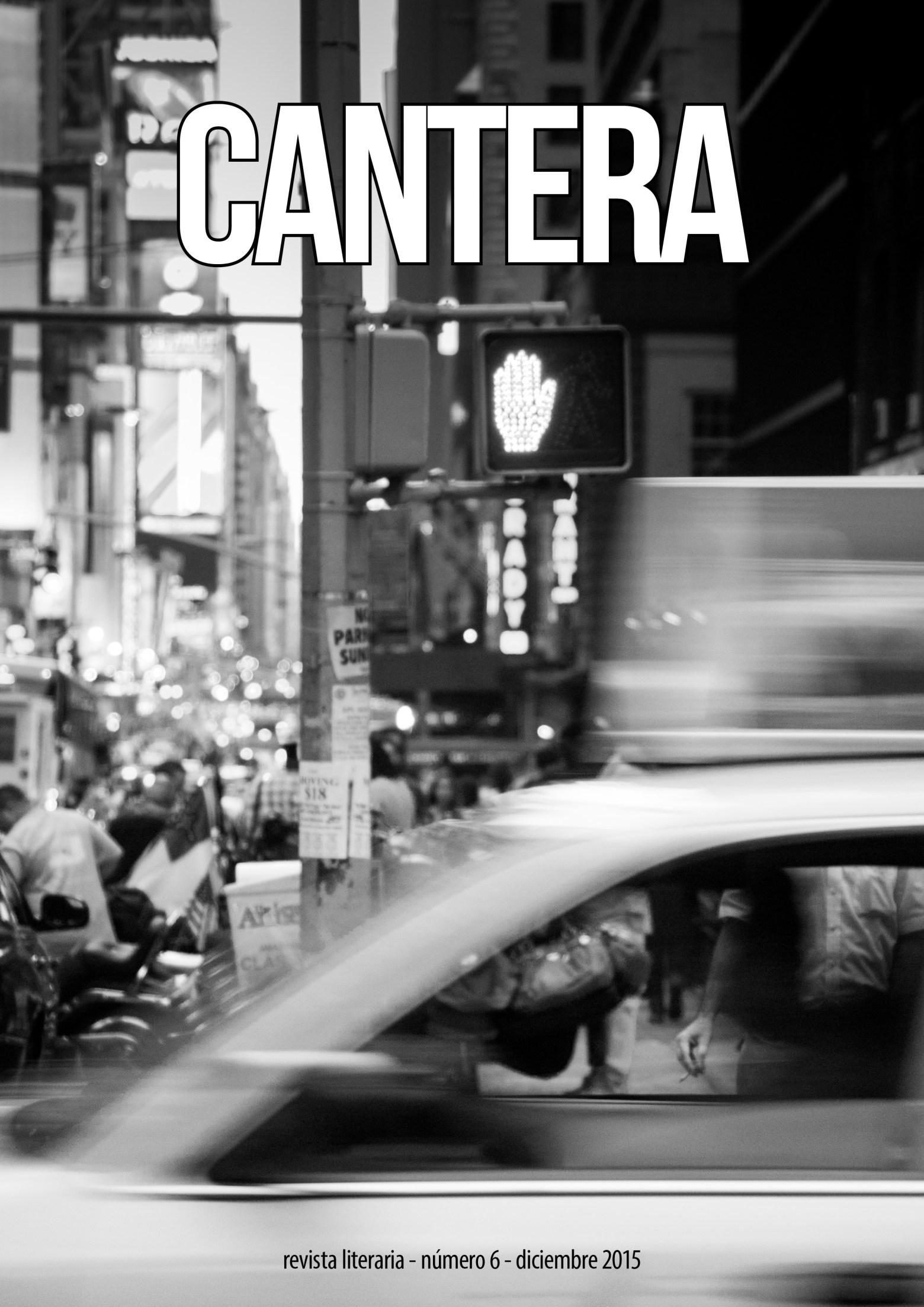Descarga el sexto número de Cantera, dedicado a la calle