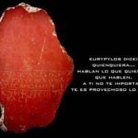 Eslóganes: Gila, Celadus el Tracio, Twitter, gritos de guerra y grafiti en Pompeya