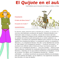 Learning with Don Quixote for Children: the Presence of the Knight in Interactive Classrooms