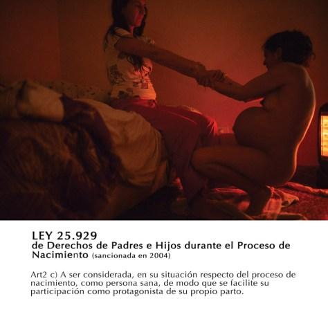 """Figura II. De Natalia Roca, """"Proyecto Dar a Luz"""" (2010-actualidad"""
