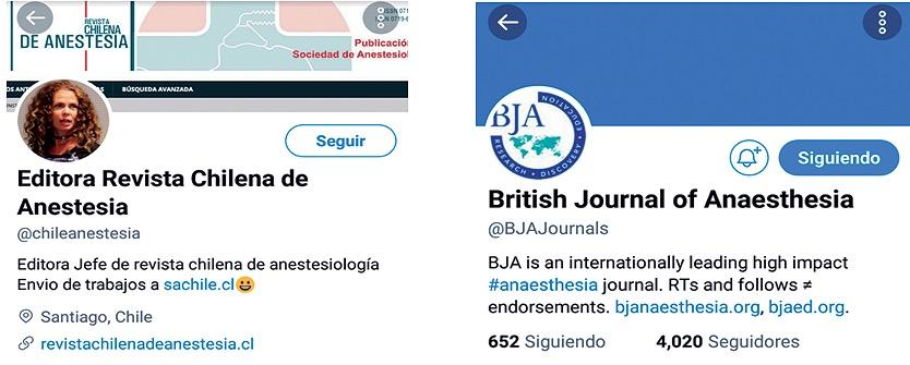 Twitter como herramienta académica en anestesiología