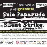 macheta concert suie cu silent strike