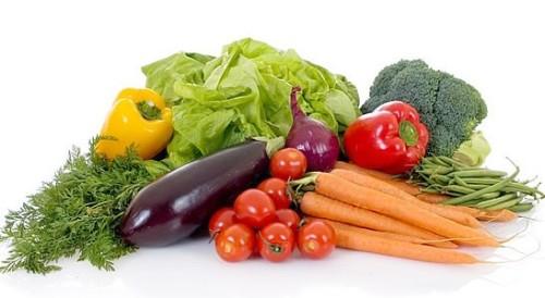 Dieta a base de verduras e carne