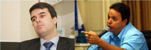Relações obscuras: secretário do Rio Rodrigo Bethlem (PMDB) e o ex-vereador miliciano Cristinao Girão (PMN)