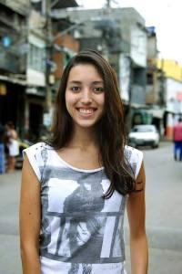 Thaís Cavalcante é coordenadora do Jornal comunitário O CIDADÃO