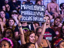 Manifestação no Rio de Janeiro após assassinato de Marielle Franco em 2018. Foto: Flickr/Bernardo G. (CC)