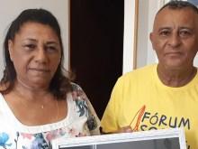 Marinete Silva e Antônio Francisco, os pais de Marielle Franco. Foto: UNIC Rio/Natalia da Luz