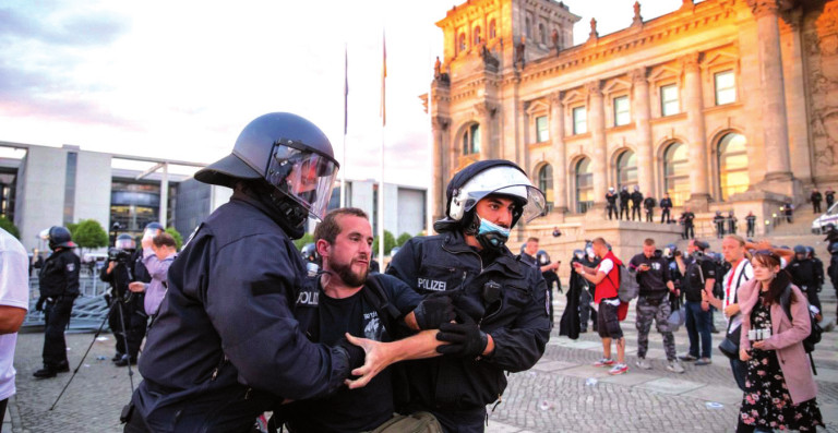 Alemania disturbios