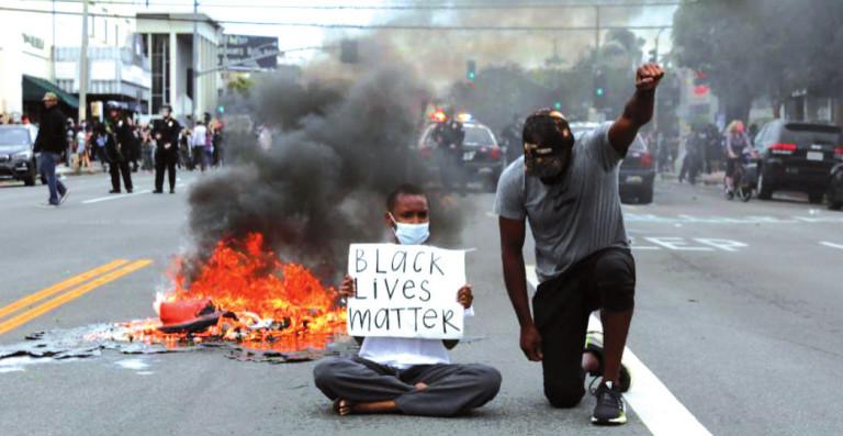 Disturbios EEUU