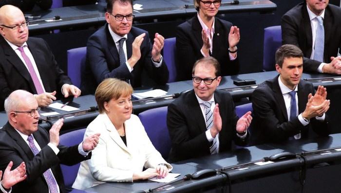Alemania: credibilidad y transparencia; y dinero