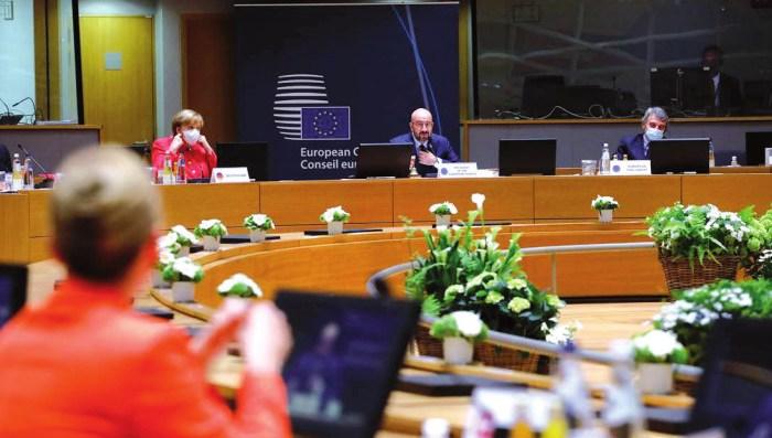 UE: Todos vigilarán el Fondo de Recuperación