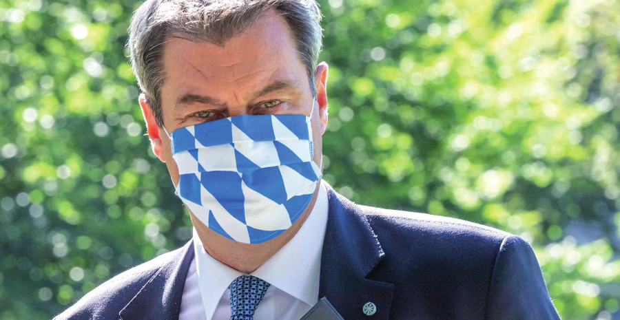 Markus Söder, pte. de Baviera y de la CSU