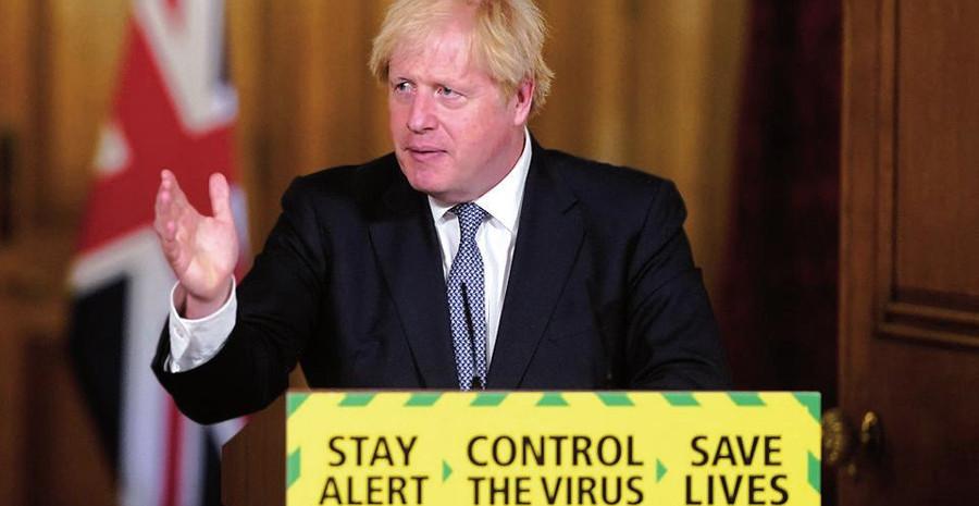 Reino Unido, Boris Johnson, vacunación covid
