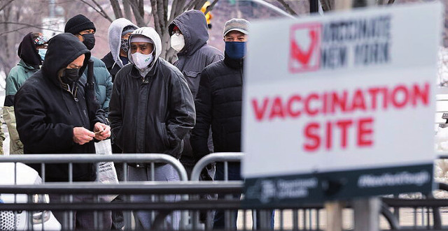 Vacunación en EEUU