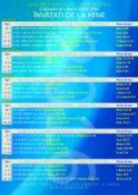 Calendar biblie librarie
