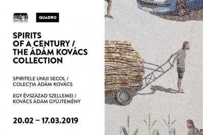 Spiritele unui secol. Colecția Ádám Kovács - o expoziție, două locații