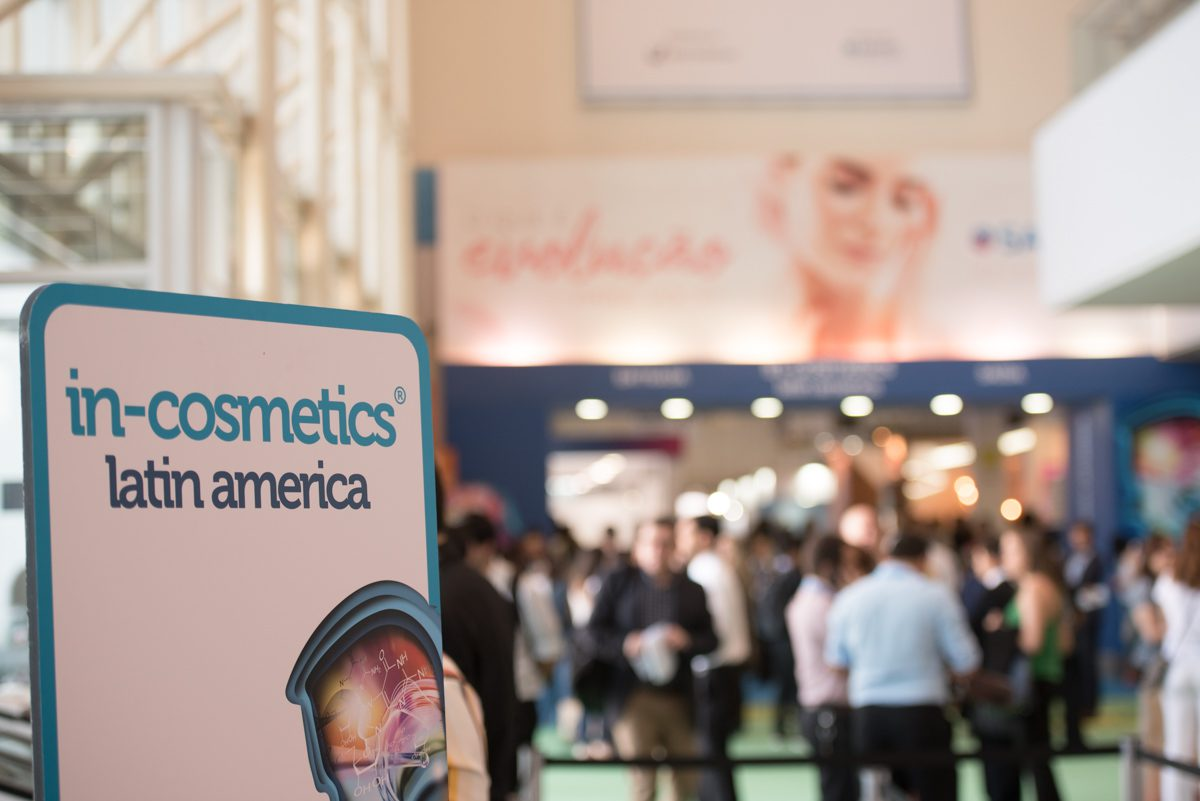 in-cosmetics Latin America tem data alterada para 2021