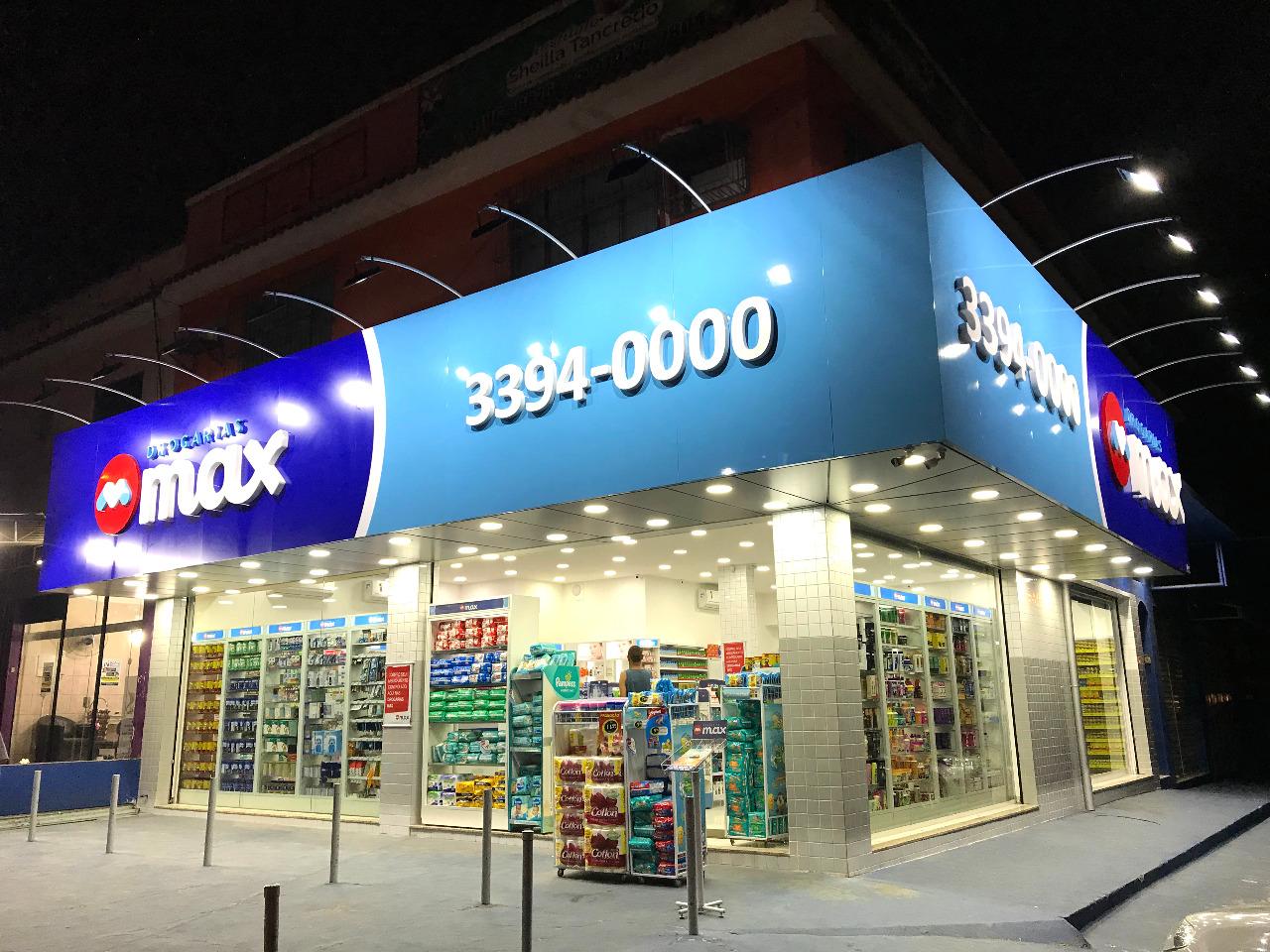 Drogarias Max anunciam crescimento entre os meses de março e novembro