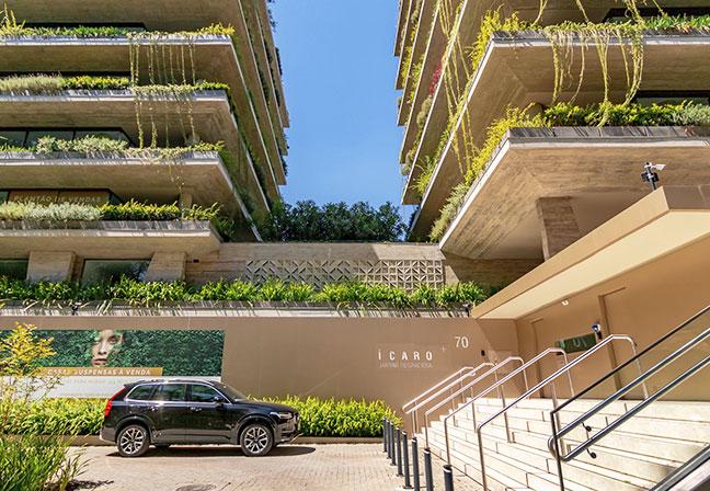 Ícaro Jardins do Graciosa, de AG7 Realty e Studio Arthur Casas. Foto: divulgação