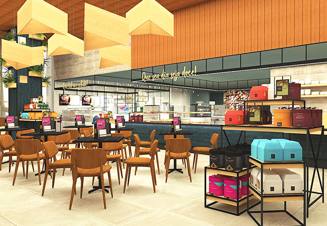 OFNER Concept Store, de Estúdio Jacarandá. Foto: divulgação