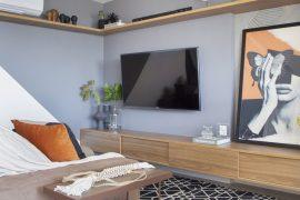 Dúplex fluminense inverte cômodos após reforma GG Arquitetura
