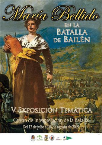 Cartel de la exposicion de Maria Bellido