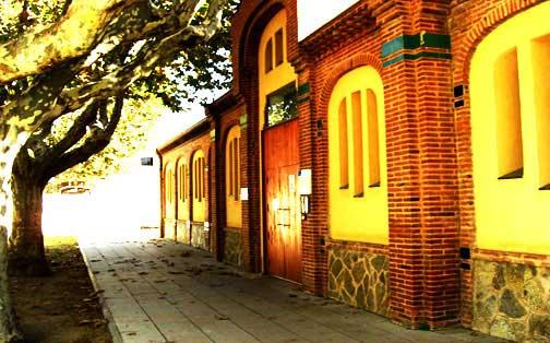 Fachada de la guardería municipal Els Menuts
