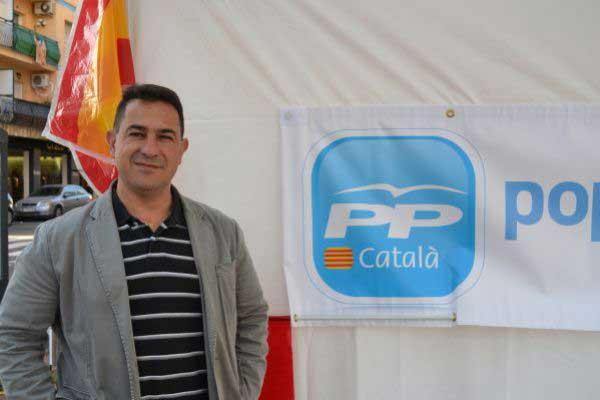 Diego Sánchez, presidente del PP en el Maresme