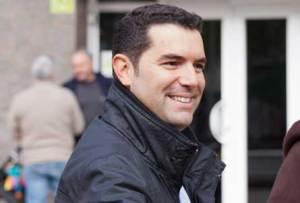 Xavier Amor, alcalde de Pineda