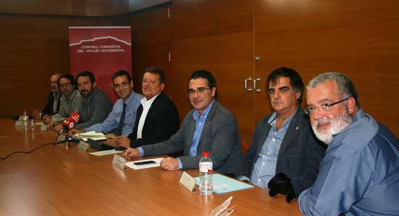 Los presidentes de los consejos comarcales de Barcelona