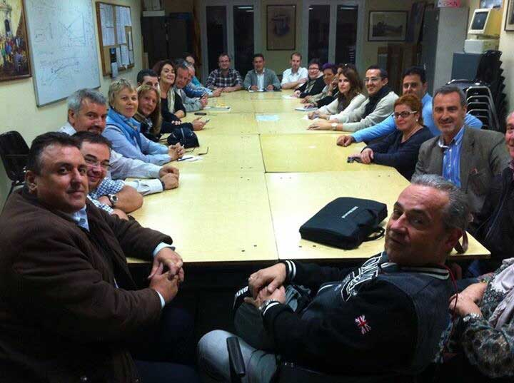 La Junta Comarcal del PP se reunió en Tordera